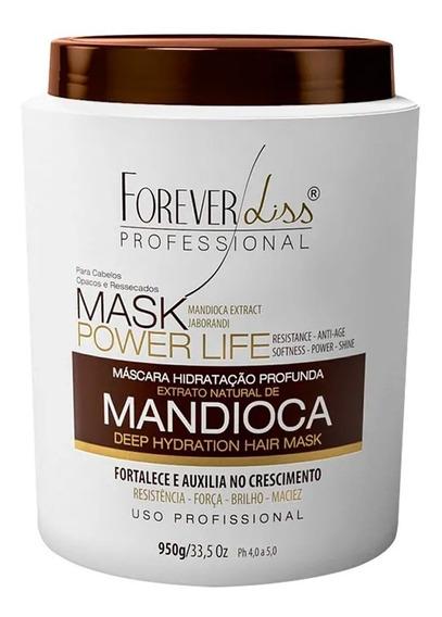 Forever Liss Máscara Hidratante Mandioca Power Life 950g
