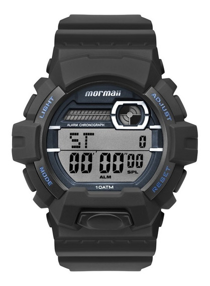 Relógio Masculino Mormaii Digital Prova D Água