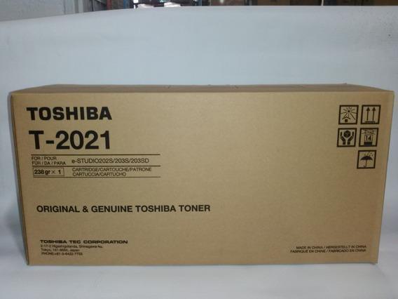 Toner T-2021 Toshiba Para Equipos E-studio 202s/203s/203sd