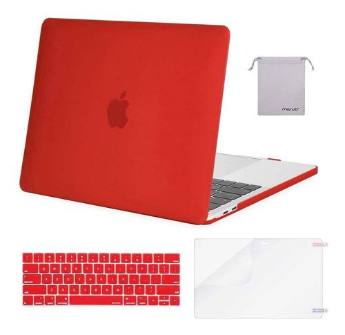Funda / Accesorios Macbook Pro 13 A2159 A1989 A1706 Red