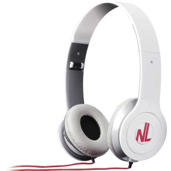 Fone De Ouvido Headphone Extreme Branco Plug Estéreo Newlink