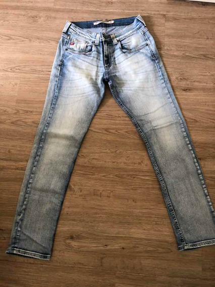 Calça Damyller Cintura Baixa Skinny Masculina