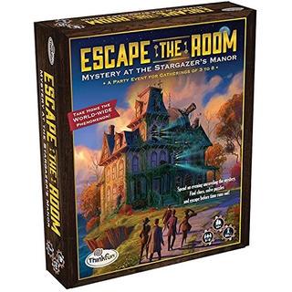 Think Fun Escape The Room Stargazers Manor Una Experiencia D