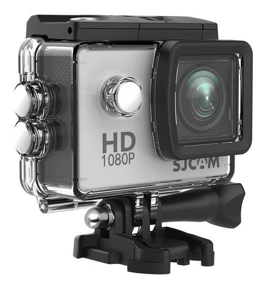 Sjcam Sj4000 Sem Wi-fi+microfone Motovlog+cartão 32 Gb