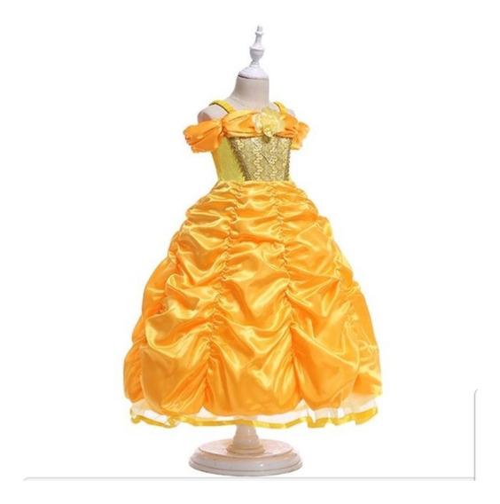 Vestido Princesa Bella