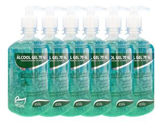 Álcool Gel 6 X 450g Higiene E Hidratante - Vedis