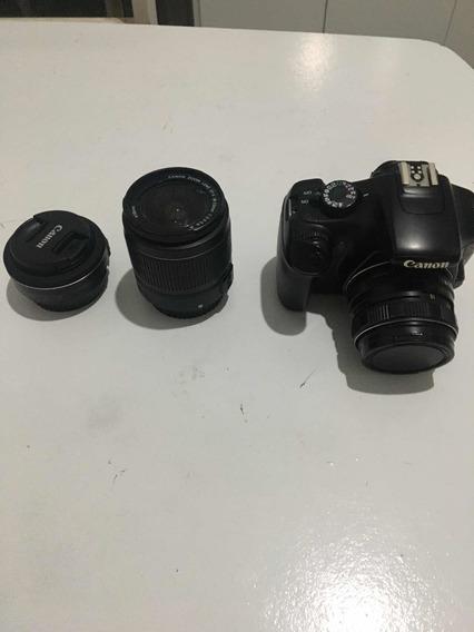 Câmera Cânon T3 + Lente 24 Mm + 58 Mm + 18-55 Mm