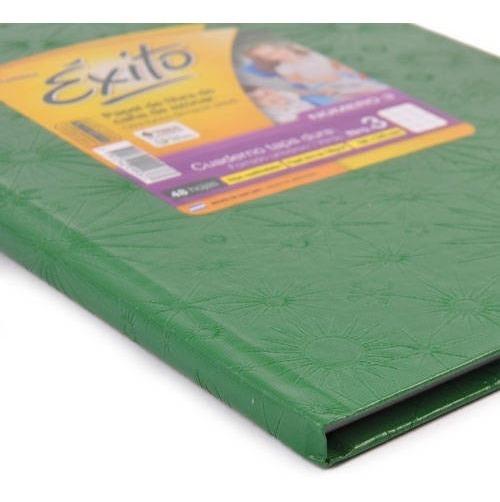 Cuaderno Exito Universo 3 Abc Cuadriculado 19x24cm Verde