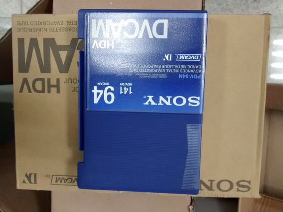 Kit De 10 Fitas Dvcam Pdv-94n/3 Sony Usadas
