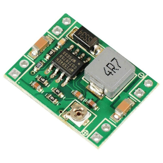 Fuente Switching Step Down Mp1584 Modulo Dc 4,5-28v 3a Ptec