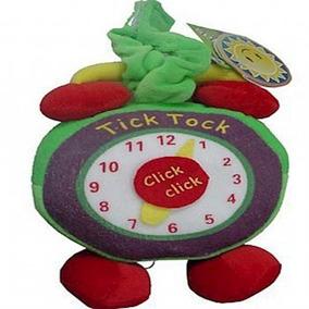 Pel?cia Infantil Rel?gio Tick-tock - Kitstar