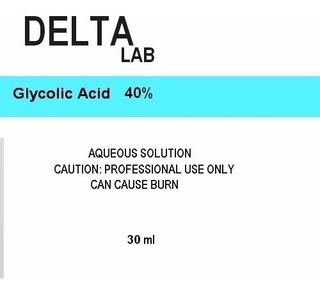 Acido Glicólico 15% A 40% Peeling Facial Acné Antiedad 30ml