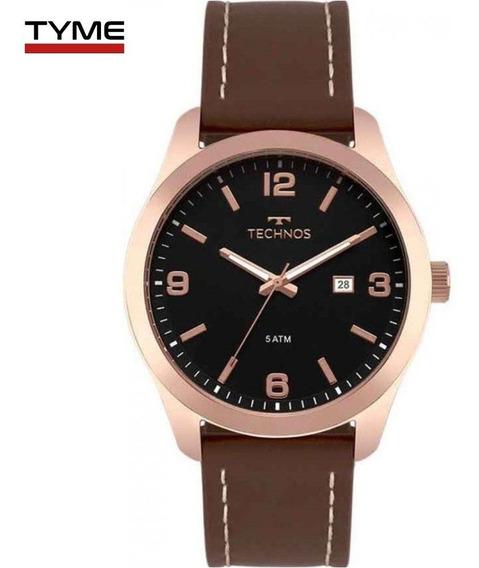 Relógio Technos Masculino Steel 2115mpj/2p Rosé - C/ Nfe
