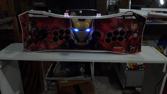 Fliperama Portátil Homem De Ferro 11 Mil Jogos