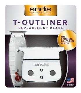 Lamina Andis T Outline Compatível Andis Gtx 100% Original