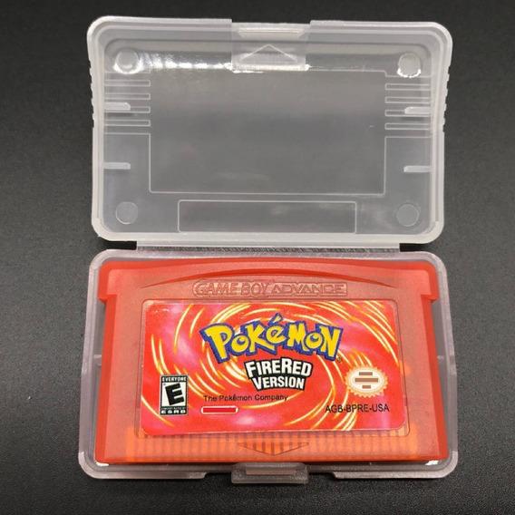 Pokemon Firered Inglês Game Boy Advance Gba Nds Lite Repro