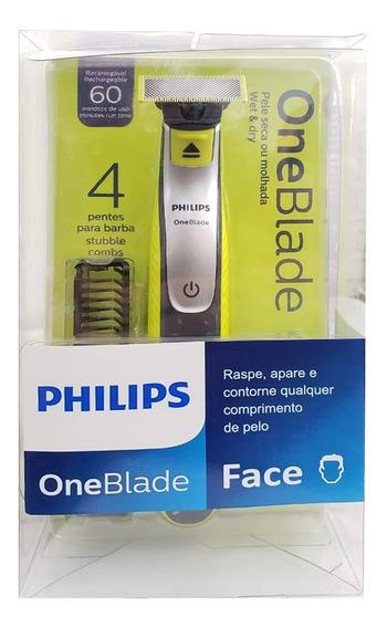 Barbeador Elétrico Philips One Blade Á Prova Água- Qp2530/10