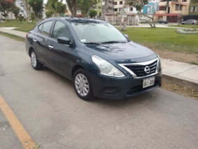Nissan Versa 2015 Automatico Version Sense 2016 Impecable