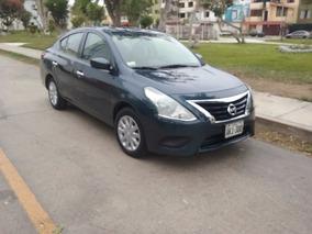 Nissan Versa 2015 Automatico Version Sense 2016 Impecable