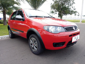 Fiat Palio 1.0 Fire Way Flex Vermelho 2015