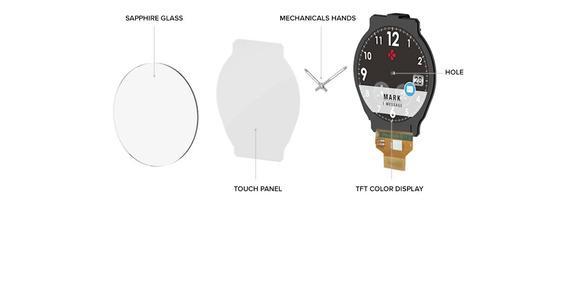 Smart Watch,reloj Inteligente Mykronoz,zetime Hombre