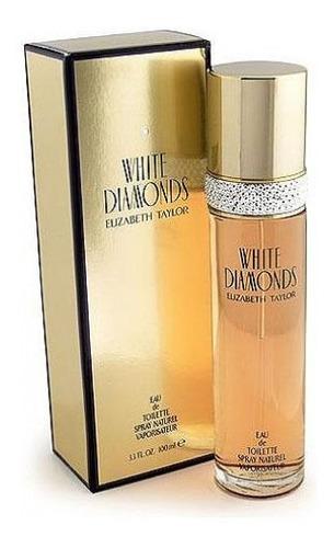 Perfume Diamante Blanco Elizabeth Taylor Dama 100ml Original