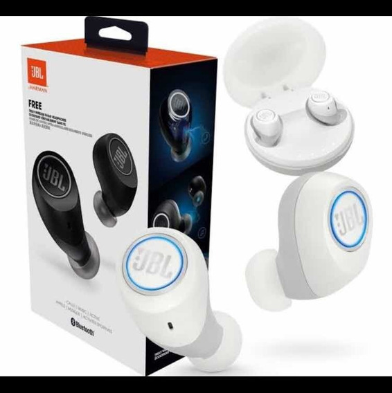 Fone Tws - 5.0 Free Bluetooth Preto Ou Branco Top De Linha