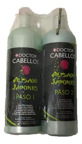 Alisado Japones Kit Litro + Shampo Docto - mL a $25
