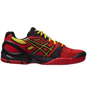 Tênis Asics Gel Resolution 5 - Fiery Red/black/yellow
