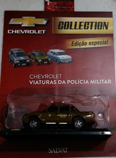 Miniatura Chevrolet S-10 Brigada Militar Salvat Frete Grátis