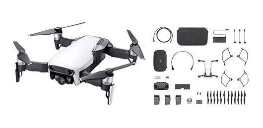 Drone Dji Mavic Air Kombo + Kit De Lentes Nd
