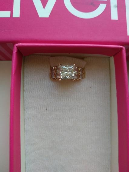 Anillo Oro 14k Diamante Cultivado