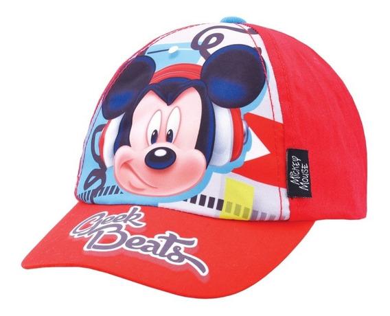 Gorras Gorros Visera Disney Mickey Original Footy Mundomania