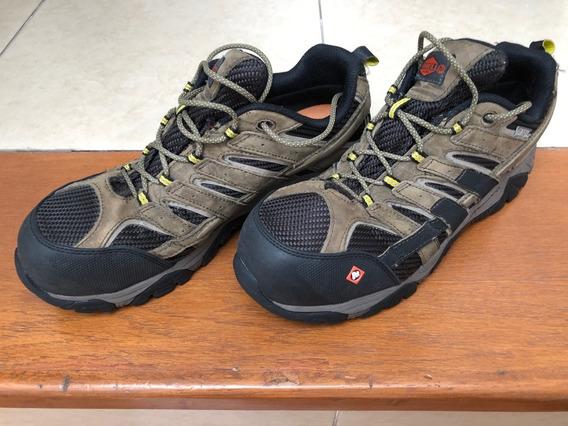Zapatos Merrel Seguridad,campismo ,tácticos Talla 29.5