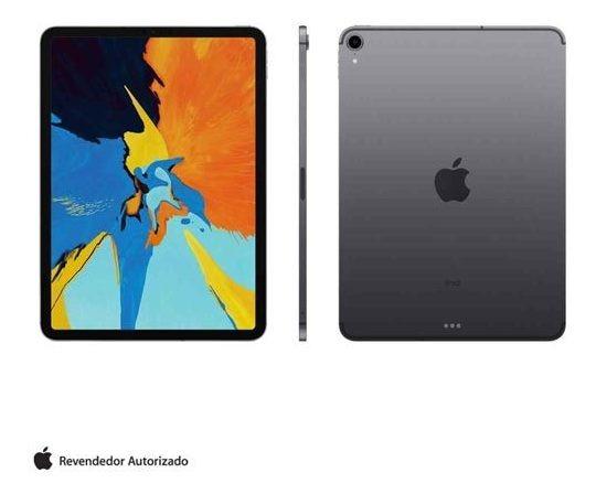 iPad Pro Cinza Espacial Tela 11 4g 64gb A12x Mu0m2bz/a