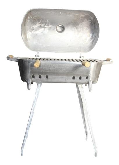 Churrasqueira De Alumínio A Bafo Tamanho Grande