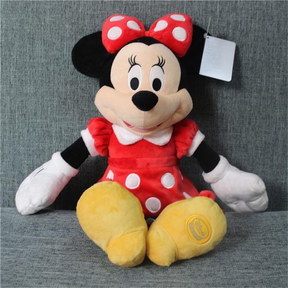 Minnie Pelucia Vermelha 45 Cm Disney Store - Original Disney