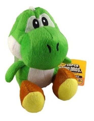 Boneco De Pelúcia Yoshi 17cm (super Mario Bros)! Em Estoque