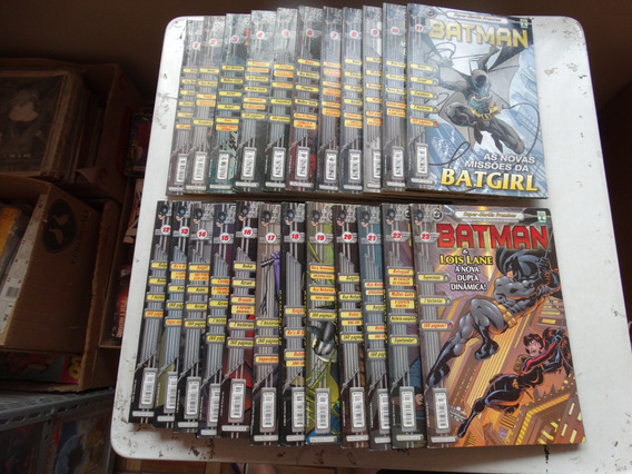Super Heróis Premium Batman Nºs 1 A 23! E. Abril 2000