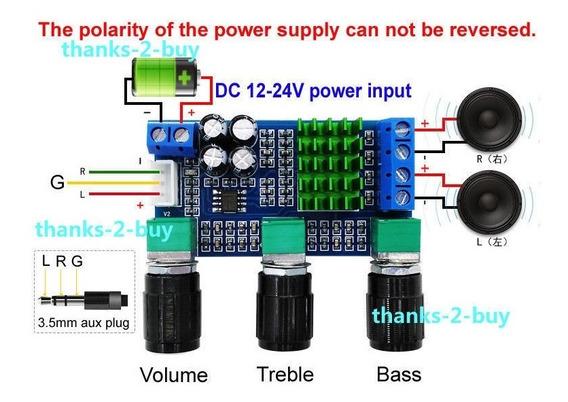 Kit Amplificador 80w + 80w 160w Rms 2.0 Hi-fi
