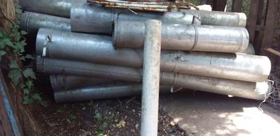 Caños De Chapa Galvanizados Mas Extractor De 25 De Diametro