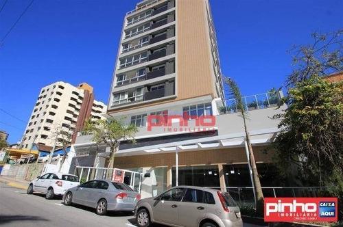 Imagem 1 de 30 de Cobertura Com 3 Dormitórios (2 Suítes) À Venda, 190 M² Por R$ 2.100.000,00 - Centro - Florianópolis/sc - Co0002