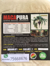 Maca Negra Boliviana