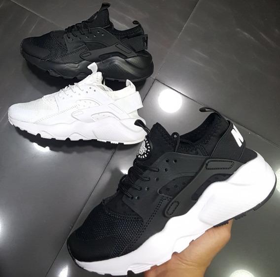 Tenis Nike Air Huarache Hmbre Mujer + Envio Gratis
