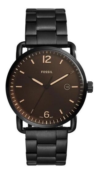 Relógio Fossil Masculino The Commuter 3h Date - Fs5277/4mn