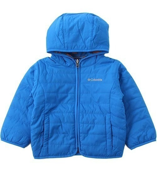 Campera Columbia Double Trouble Niños Reversible Frio Nieve