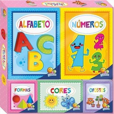 Livro Meu Kit 5 Em 1 - Facil De Aprender Primeiras Palavras