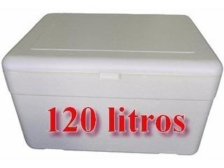 5 Cx Térmica D Isopor Capacidade 120 Litros C/dreno Isoterm