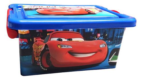 Recipiente Organizador 3,7 Litros - Disney Cars