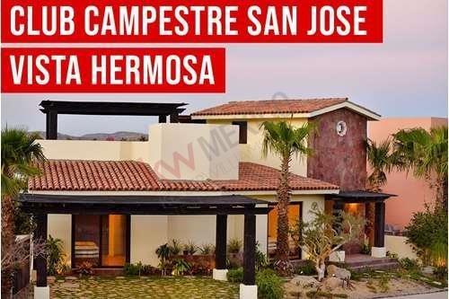 Oportunidad De Adquirir Villas En Club Campestre San José Del Cabo Desde 375,000 Usd